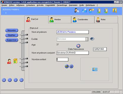 Capture d'écran de Winasso